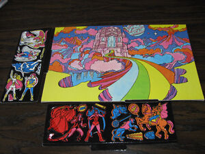 Colorforms She-Ra Excellent condition and complete pieces.