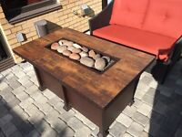 Chat Height Fire Pit Table $1500