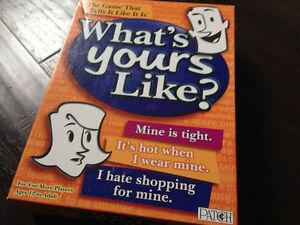 What's Yours Like-Fun Party Game (Ages 12 and up) London Ontario image 1