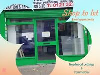 Shop to let*Pelham*Alum Rock* Excellent Opportunity