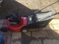 Mtd petrol self propelled lawnmower