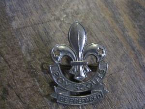 Boy scout badges
