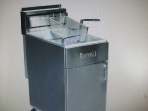 NEW - Gas Deep Fryer