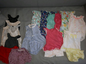 Baby girl clothing lot - 9 months