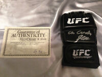 Georges St-Pierre Signed UFC Glove with Inscription and COA