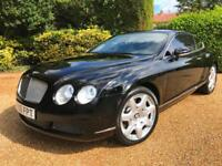 "BENTLEY CONTINENTAL 6.0 GT AUTO 79,000 MILES MULLINER 20 ""ALLOYS !!!!!"