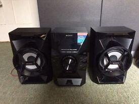 Sony Hifi system 100w