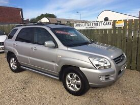 Kia Sportage 2.0 diesel automatic 05 reg excellent condition leather interior tow bar finance