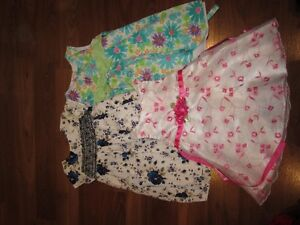 Lot of Girls Fancy Summer Dresses - Size 24Mths