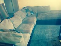 Brown 2 piece sectional need gone today