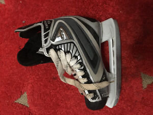 Boys jr hockey skates