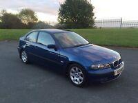 BMW 316 Ti COMPACT 2003 FULL YEARS MOT
