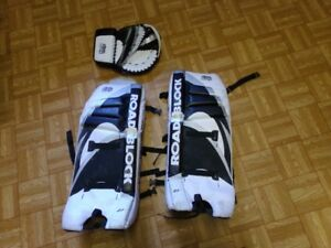 road hockey goalie pads