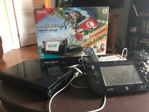 Nintendo Wii U Mario Kart 8 Bundle + Other Games