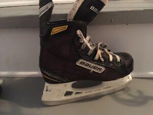 Size 1 hockey skate or 2 shoe size