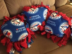 Blue Jays fleece pillows