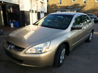 2004 Honda Accord LX Sedan 1-owner, 3 YRS FREE OIL CHANGES