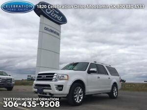 2016 Ford Expedition Max Limited  LOW KMS, Man/Sask Safety Certi