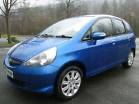 07/07 HONDA JAZZ 1.4i-DSI SE 5DR HATCH IN MET BLUE