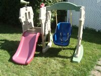 Little Tikes - Climber, Slide, Swing and Picnic Table
