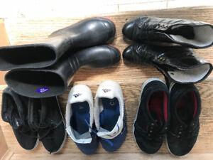Chaussures pour garçons grandeurs 5 à 6