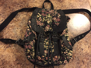 Floral Backpack/Purse London Ontario image 1