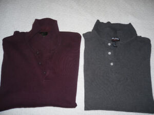 2 polo / golf shirts + 2 pairs shorts - Eddie Bauer - Kirkland