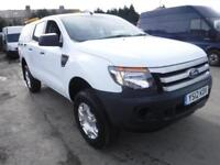 FORD RANGER XL 4X4 Double Cab Pick up White Manual Diesel, 2012
