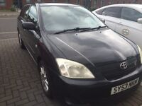 Toyota Corolla T-sports 5 door very rare 1.8 VVTL-I