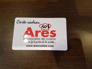 Carte-cadeau ARES gift card