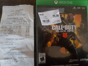 Call of duty black ops brand new SOLD PPU