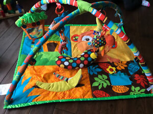Activity mat, chair, ride on, table