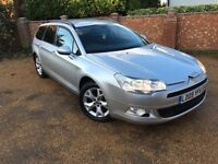 2009 09 CITREON C5 2.0 HDI VTR+ ESTATE (TOW PACK) JULY 2017 MOT - A GREAT CAR A MUST SEE!