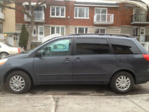 2006 TOYOTA SIENNA CE 8 PASSAGERS 140000 MILE