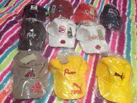 Caps - puma, addidas, Nike x10