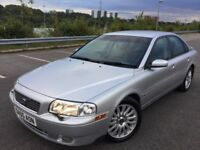 Volvo S80 2.4 D5 SE AUTOMATIC CHECK OUT OUR YOUTUBE VIDEO PREVIEW OF THIS CAR (silver) 2005
