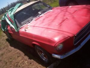 1968 Ford Mustang convertible project