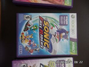 jeux SONIC free riders  (xbox 360)