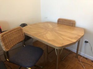 Vintage dining table - four seats