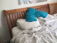 Super King bed frame- reclaimed wood