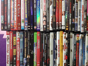 Lot of 52 Used DVDs