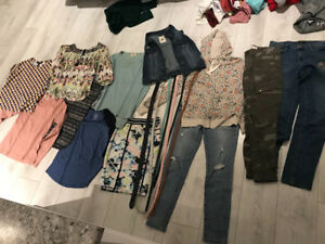 TONS of Girls/small women's clothing