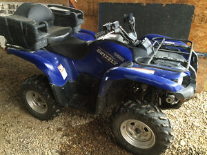2009 YAMAHA GRIZZLY 550 FI 4X4 POWER STEERING