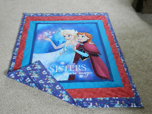 FOR SALE A NEW FROZEN - SISTERS ARE MAGIC QUILT