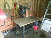 Table saw and arm saw