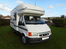 AutoSleeper Pescara Automatic 2000 only 24k miles one owner fsh