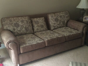 Microsuede Matching Couch and Chair