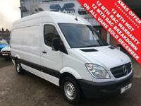 1d4885df48 2013 13 MERCEDES-BENZ SPRINTER 2.1 313 CDI MWB HIGH ROOF 129 BHP FULL  HISTORY