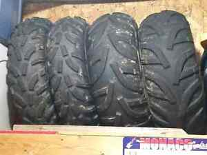 Suzuki Kingquad  ATV tires on Rims