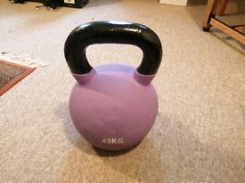 40kg kettlebell Jordan fitness neoprene coated